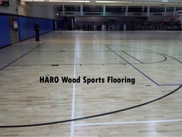 Haro Wood Sports Surfacing