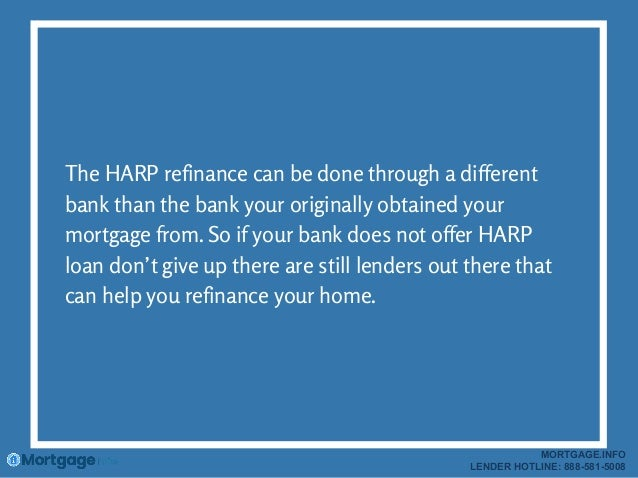 Can A Harp Loan Be Done On An Investment Property
