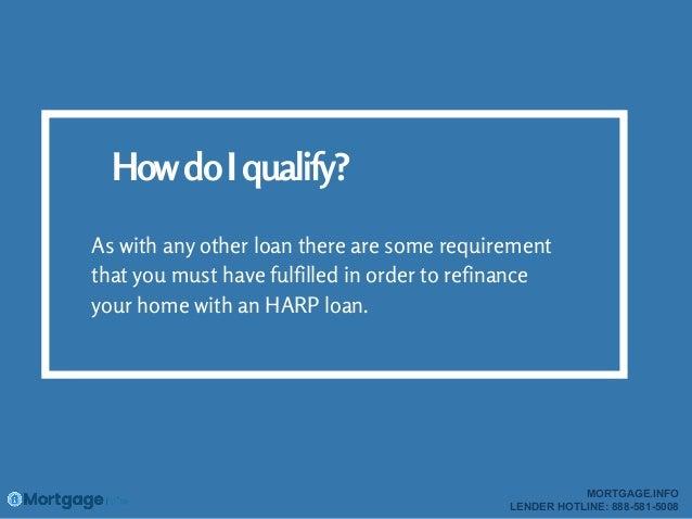 HARP 2016- mortgage.info