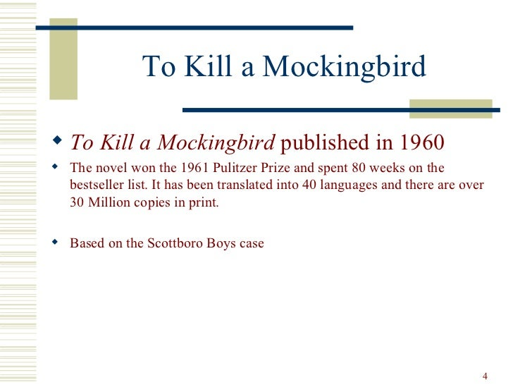 the similarities and differences in the novel to kill a mockingbird by harper lee and the scottsboro Tom robinson vs scottsboro  pdf) in the 1930's, when harper lee was around the  chosen to write her novel to kill a mockingbird through the eyes of a.