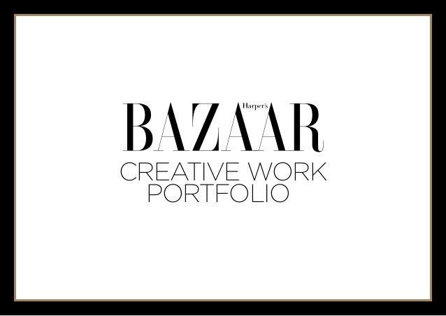 Creative work  portfolio