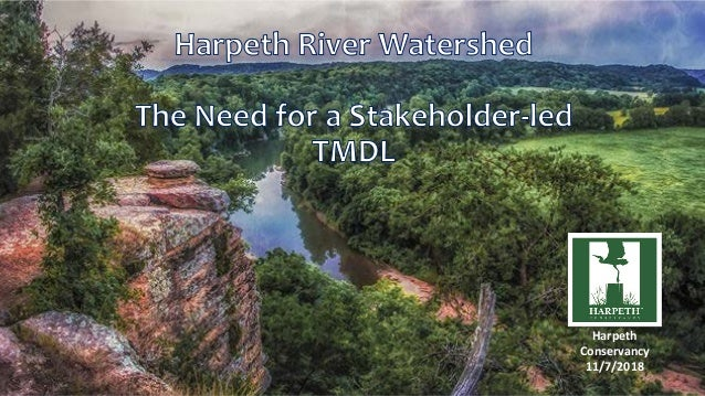 Harpeth Conservancy 11/7/2018