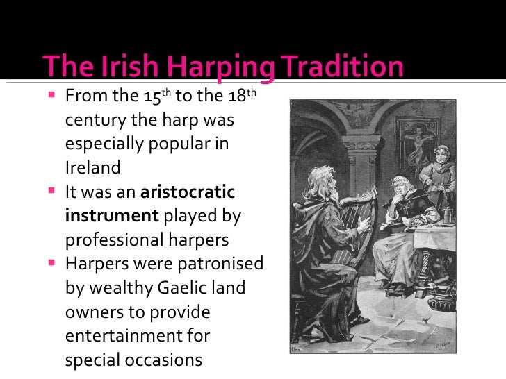 the irish harping tradition