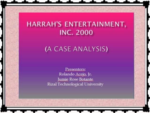 harrahs case study hbs