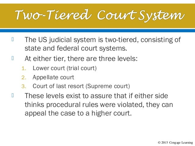 Chapter 2 - An Overview of the U.S. Legal System