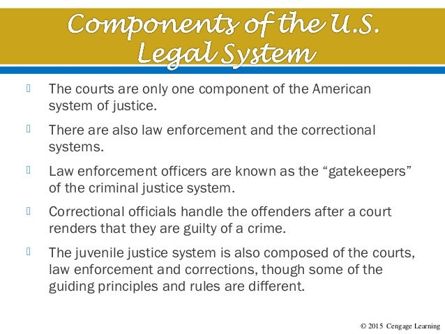 overview of the u s legal system In this article, we look at how the british legal system differs from other systems  around the world, including instances in which it is nearly.