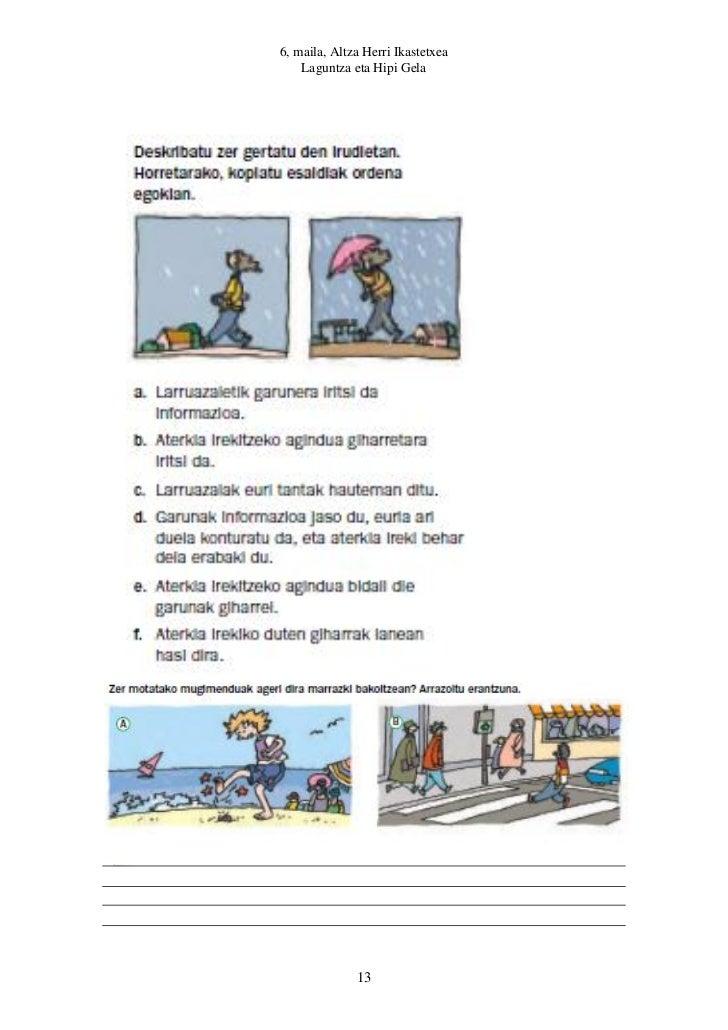 6, maila, Altza Herri Ikastetxea    Laguntza eta Hipi Gela              13