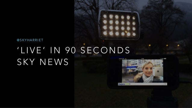 Harriet Hadfield – The mobile journalist's toolkit