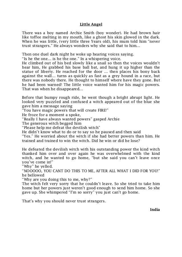 Archie smith boy wonder essay