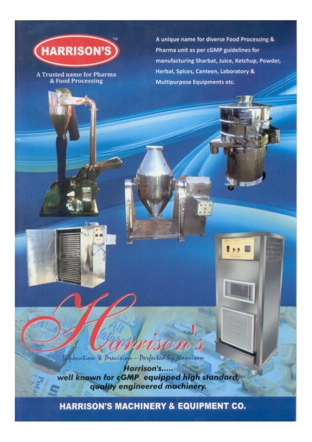 Harrisons Pharma Machinery Private Limited, Delhi, Pharmaceutical Machinery