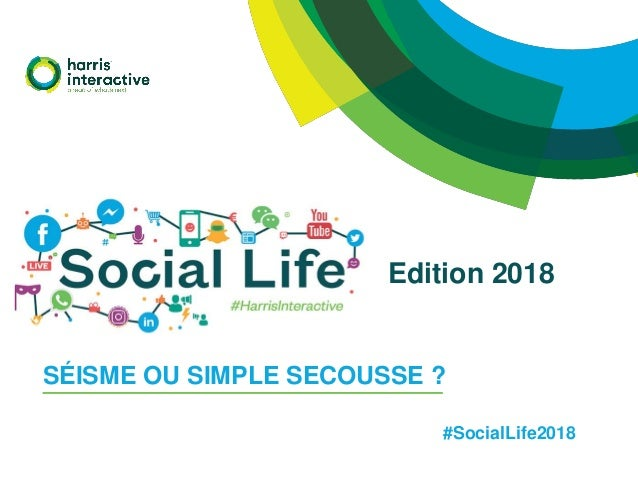 SÉISME OU SIMPLE SECOUSSE ? Edition 2018 #SocialLife2018