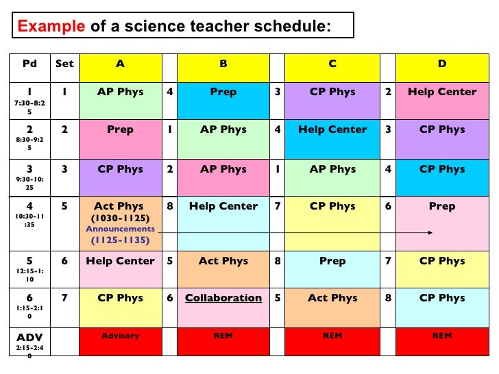 High School Class Schedule Sample Image Gallery  Hcpr