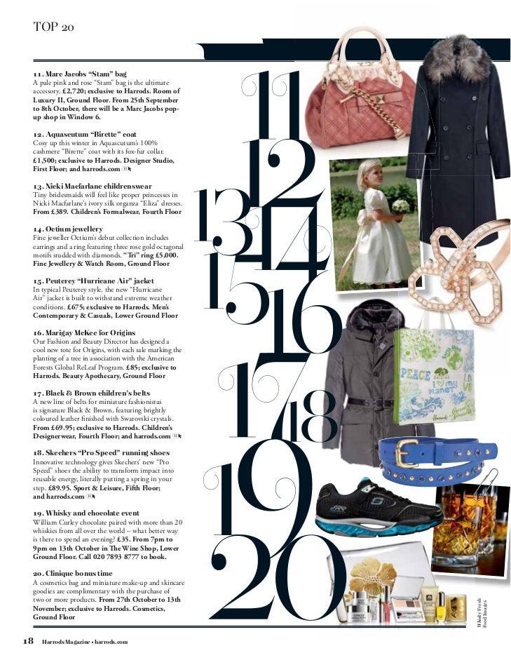 68a8850ef8319d Harrods  October magazine