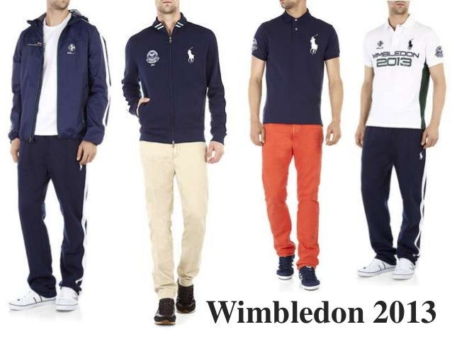 Harrods Get The Look Wimbledon Menswear