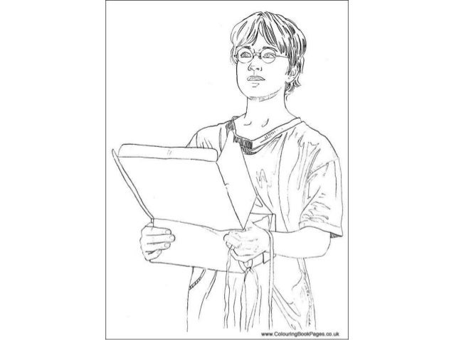 Harry potter Colouring Pages and Kids Colouring Activities