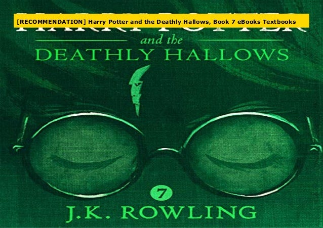 Best Books Harry Potter And The Deathly Hallows Book 7 Online
