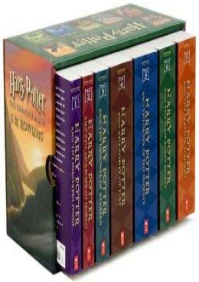 D O W N L O A D Harry Potter Boxset Harry Potter 1 7 Z I P