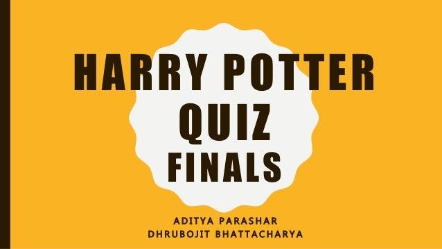 image regarding Harry Potter Quiz Printable referred to as Harry Potter Quiz - Finals