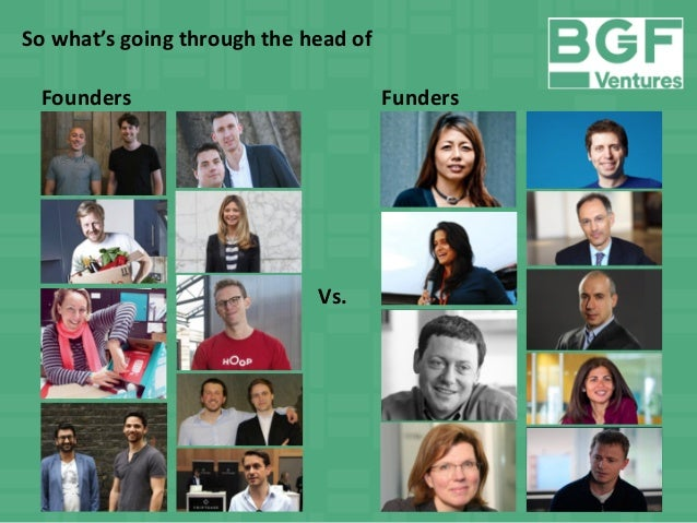 Harry Briggs - On the Psychiatrist's Couch: Founders vs. Funders Slide 3