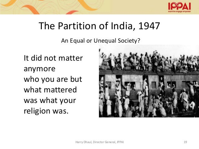 The Hidden Story Of India's Partition And Its Mistakes