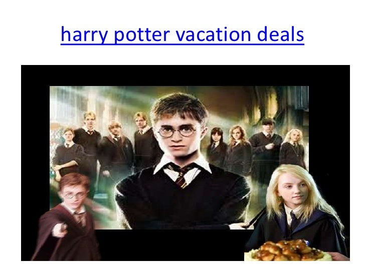 harry potter vacation deals
