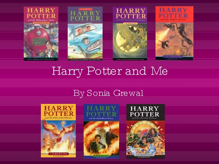 Harry Potter and Me By Sonia Grewal