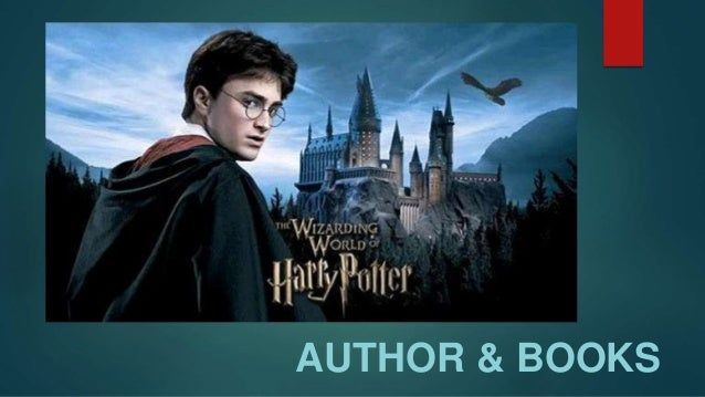 Harry Potter Author And Characters