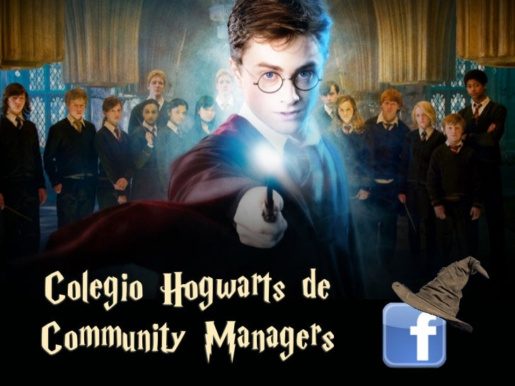 Colegio Hogwarts deCommunity Managers