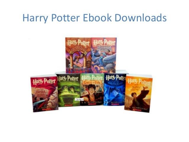 Harry potter ebooks free download - Harry potter images download ...