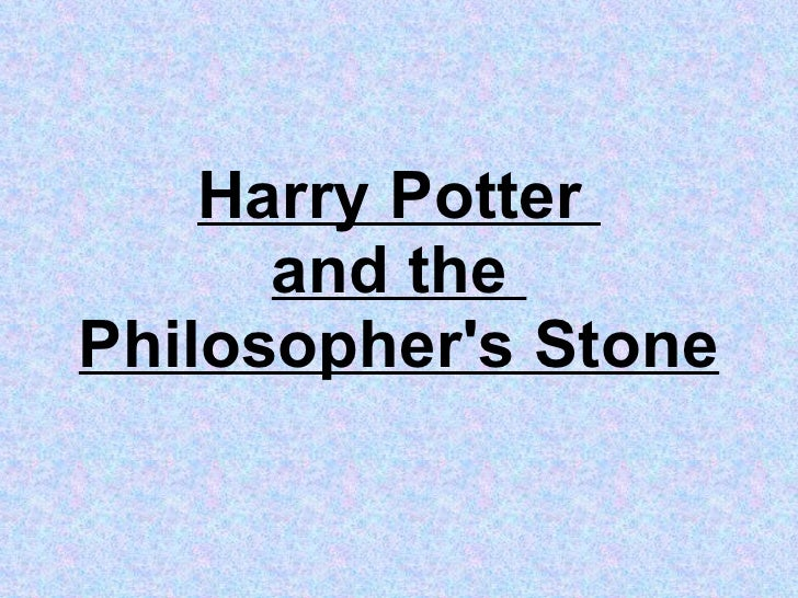 Harry potter and the philosophers stone belonging