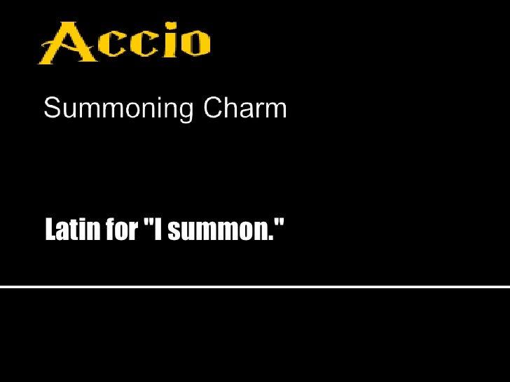 Latin For I