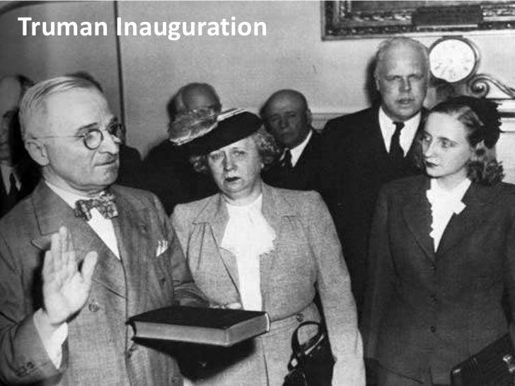 Truman Inauguration<br />