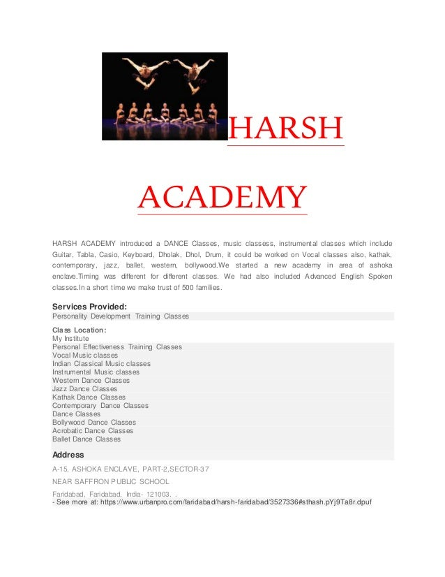 Harsh academy
