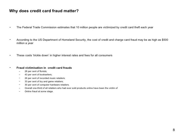 credit card frauds in india pdf