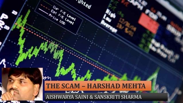 THE SCAM – HARSHAD MEHTA AISHWARYA SAINI & SANSKRITI SHARMA