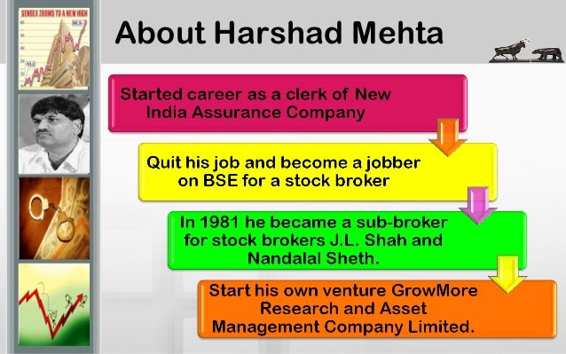 harshad mehta scam india compilation Early 1990s harshad mehta scamthe top photo is of harshad mehta in 1991 with his lexus and the photo under it is that of the same person but being escorted by.