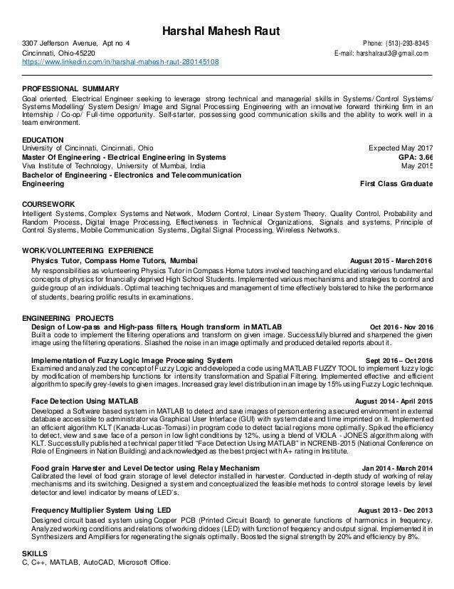 harshal mahesh raut resume