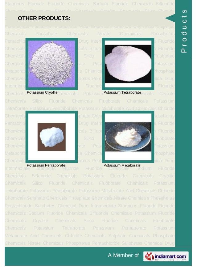 A Member ofStannous Fluoride Fluoride Chemicals Sodium Fluoride Chemicals BifluorideChemicals Potassium Fluoride Chemicals...