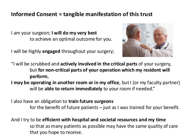 Griffith Harsh, Surgeon's Perspective on Concurrent Surgeries