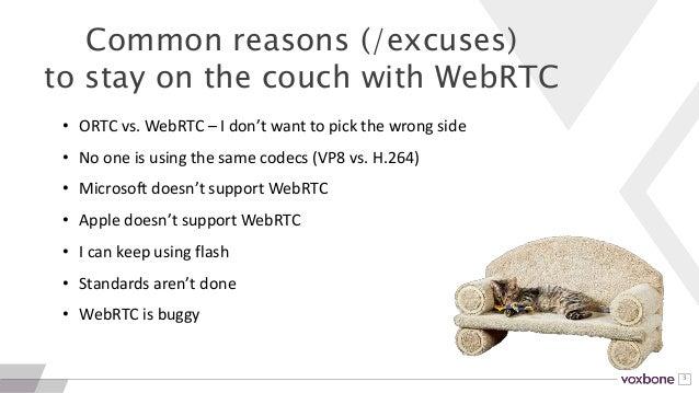 ClueCon 2016: Should you use WebRTC? Slide 3