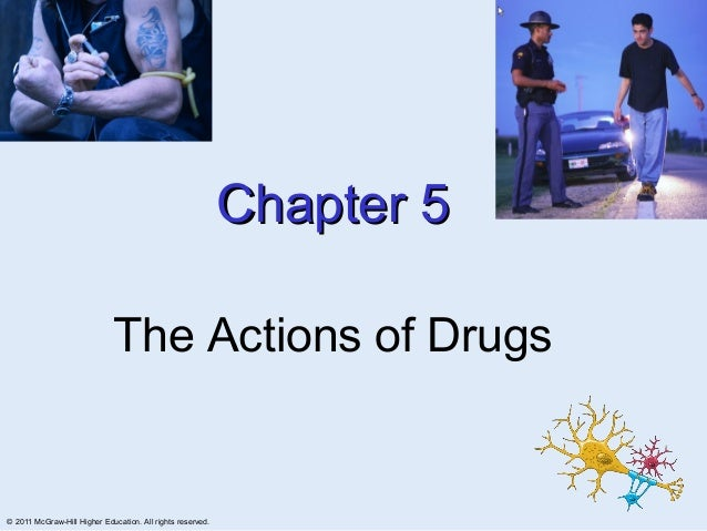 Chapter 5                             The Actions of Drugs© 2011 McGraw-Hill Higher Education. All rights reserved.