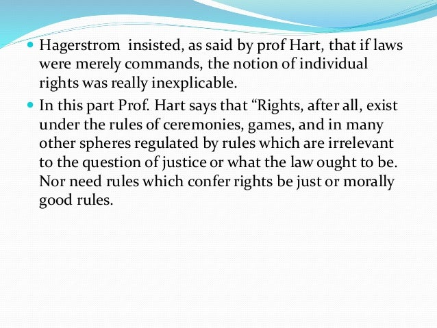 """austion hart and kelson on sanction Can there be laws without sanctions but according to hart, the definition given by austin is inadequate as it does not include the """"idea of a rule."""