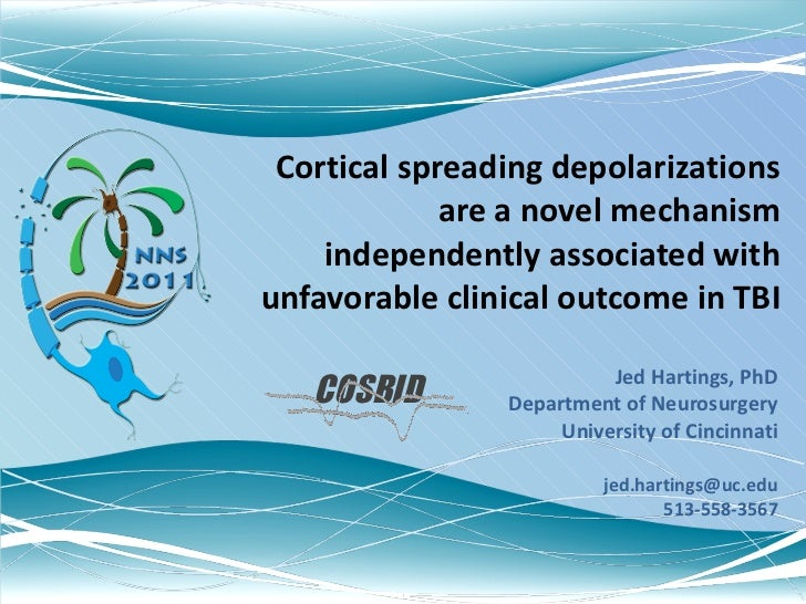 Cortical spreading depolarizations are a novel mechanism independently associated with unfavorable clinical outcome in TBI...