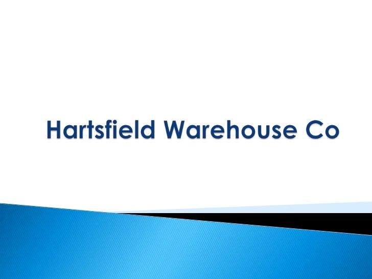 Hartsfield Warehouse Co<br />