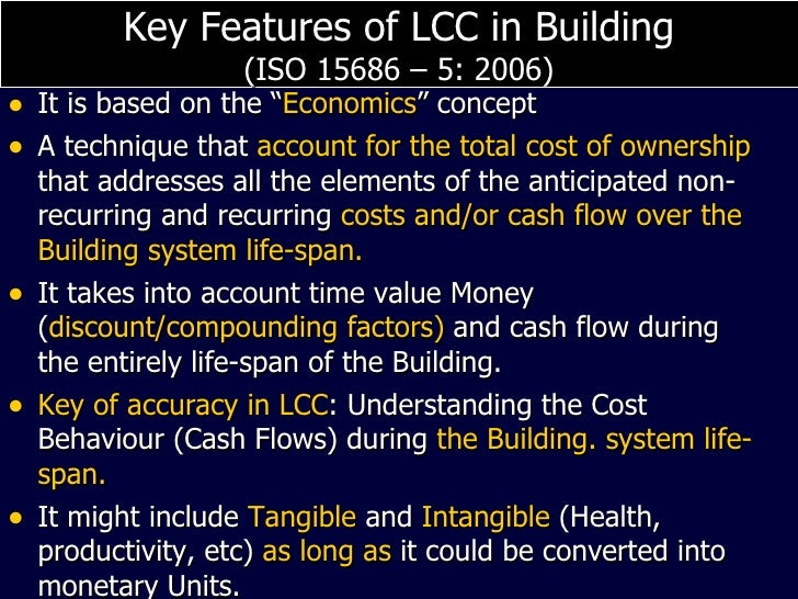 building economics and life cycle costs construction essay Life-cycle cost analysis (lcca) is a method for assessing the total cost of facility ownership it takes into account all costs of acquiring, owning, and disposing of a building or building system.