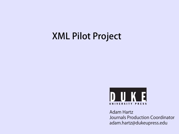 Hartz - XML for the Rest of Us