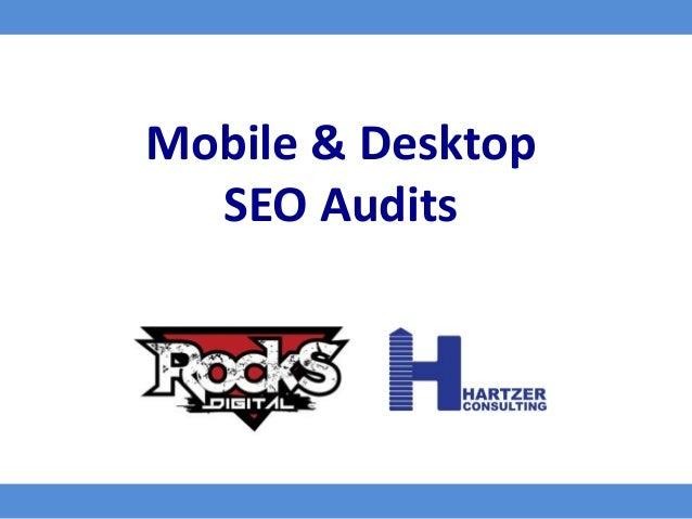 Mobile & Desktop SEO Audits
