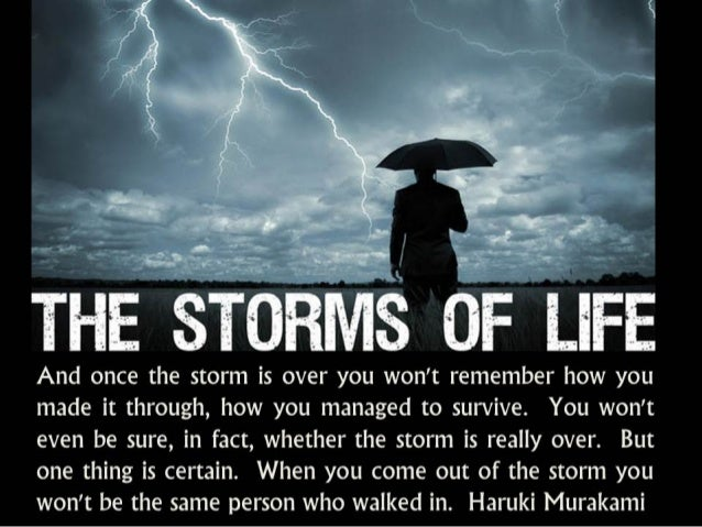 The Storms Of Life ★