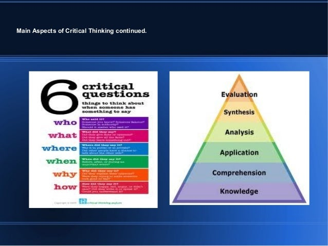 critical thinking abilities and dispositions