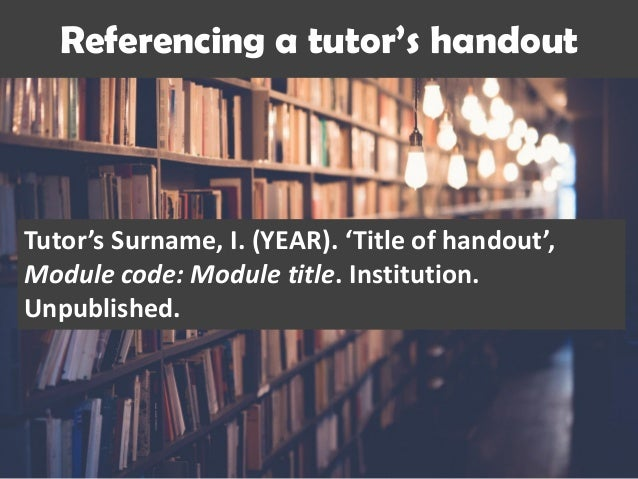 referencing in coursework Harvard referencing style is the chosen style for tafe nsw's higher education courses uhi citing and referencing using harvard: a quick guide harvard style - tafe nsw.